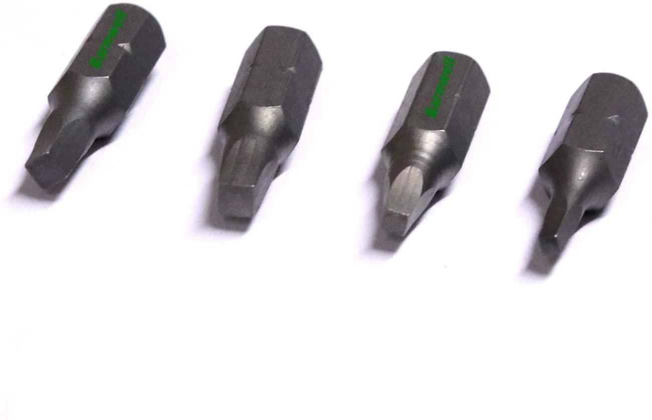 Rodzaje śrubokrętów typu Robertson