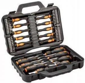 Zestaw wkrętaków i końcówek wkrętakowych Neo Tools 58 szt.
