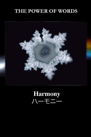 Harmonia i struktura wody